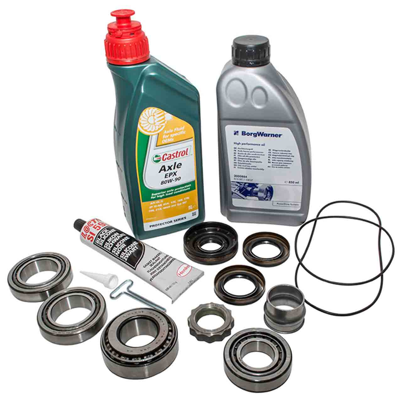 Freelander 2 Kit Revisione Del Cuscinetto Completo Differenziale Posteriore Olio GR2-05540