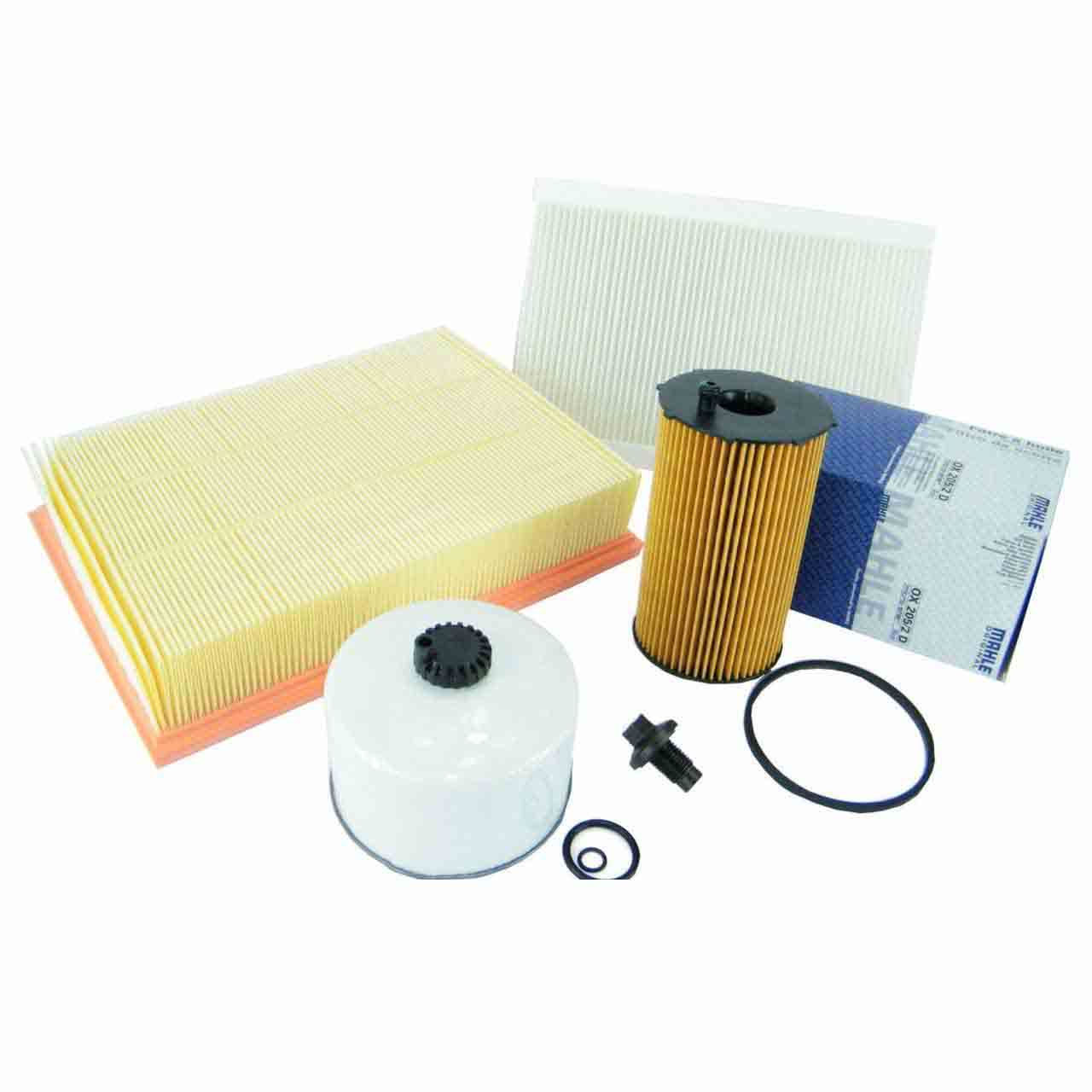 Kit Filtro Aria Carburante Olio Motore Diesel Range Rover Sport 2.7 Tdv6 Discovery 3-4 Land Rover GR2-07257