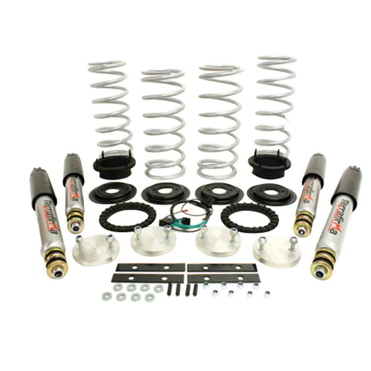 Range Rover P38 Standard Ride Height Incluso Ammortizzatore All Terrain Air To Coil Kit Conversione Terrafirma Range Rover P38 Land Rover GR2-07319