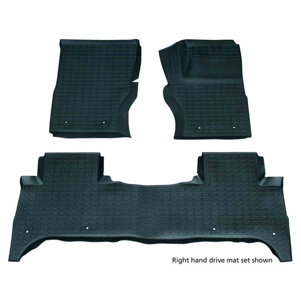Set Tappetini Gomma Range Rover Sport Lhd Anteriore-Posteriore Range Rover Sport Land Rover GR2-07447