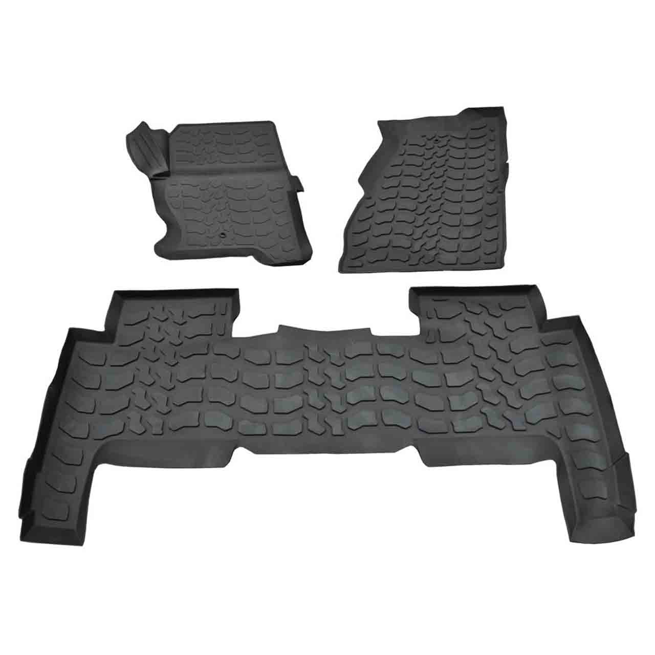 Set Tappetini Gomma Range Rover Sport Lhd Anteriore-Posteriore Range Rover Sport Land Rover GR2-07577