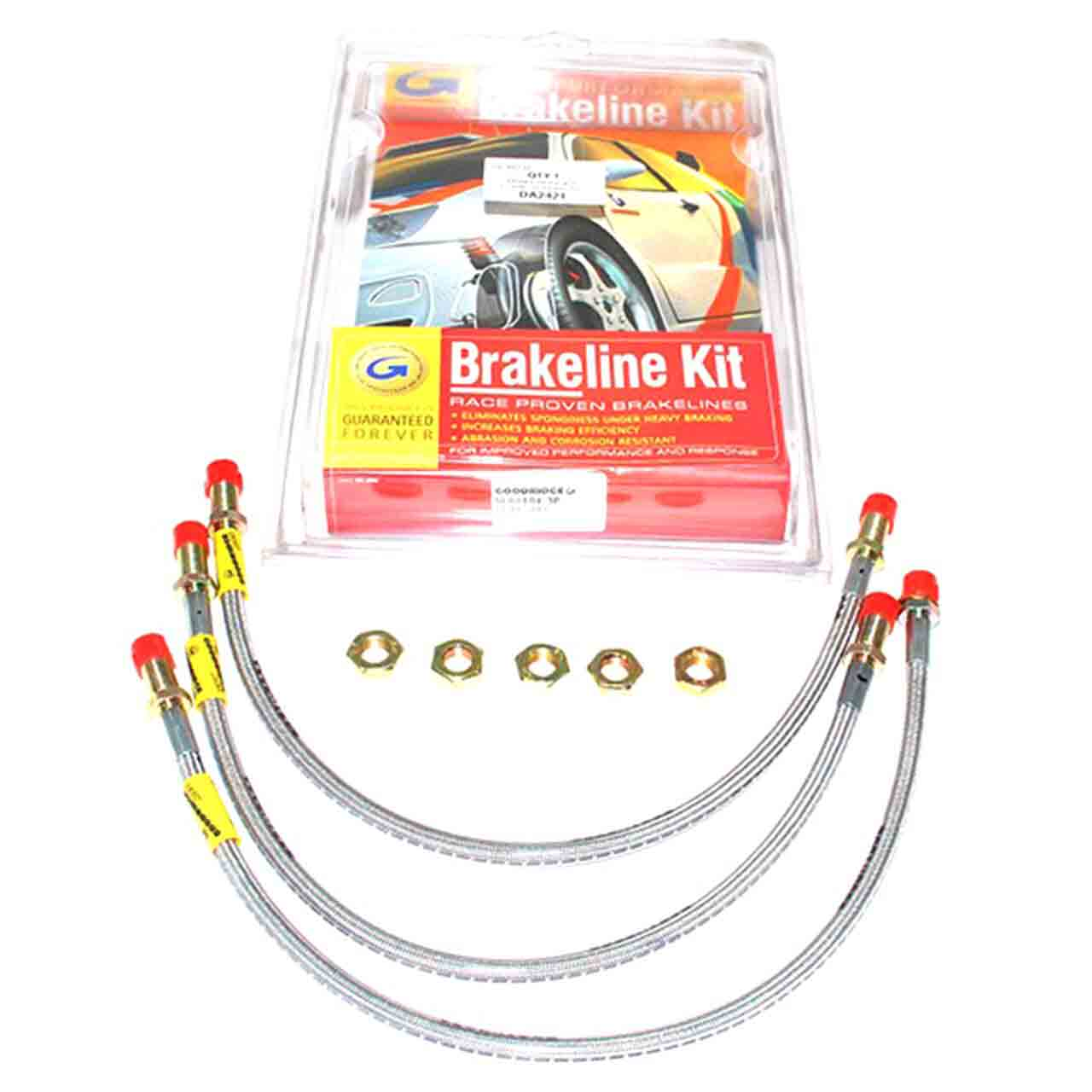 Kit Tubo Freno Standard Serie Acciaio Inox Goodridge Series 1 2 3 Land Rover GR2-07809