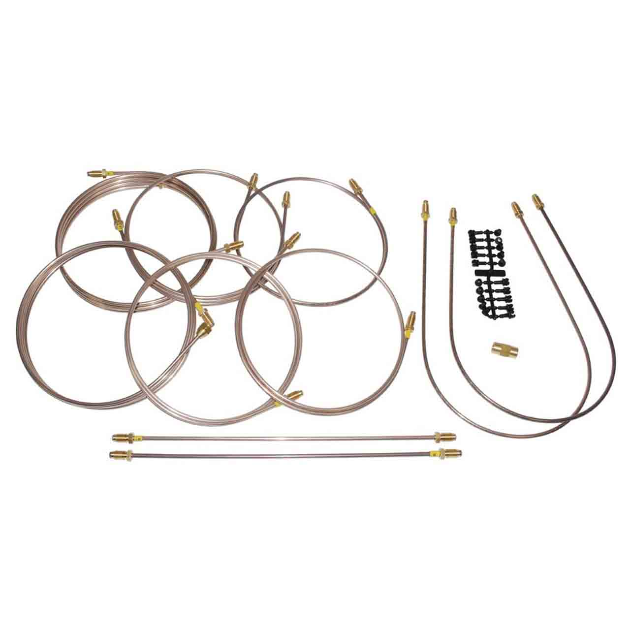 Set Tubi Freno Pronti All'Uso Series 1 2 3 Land Rover GR2-07995