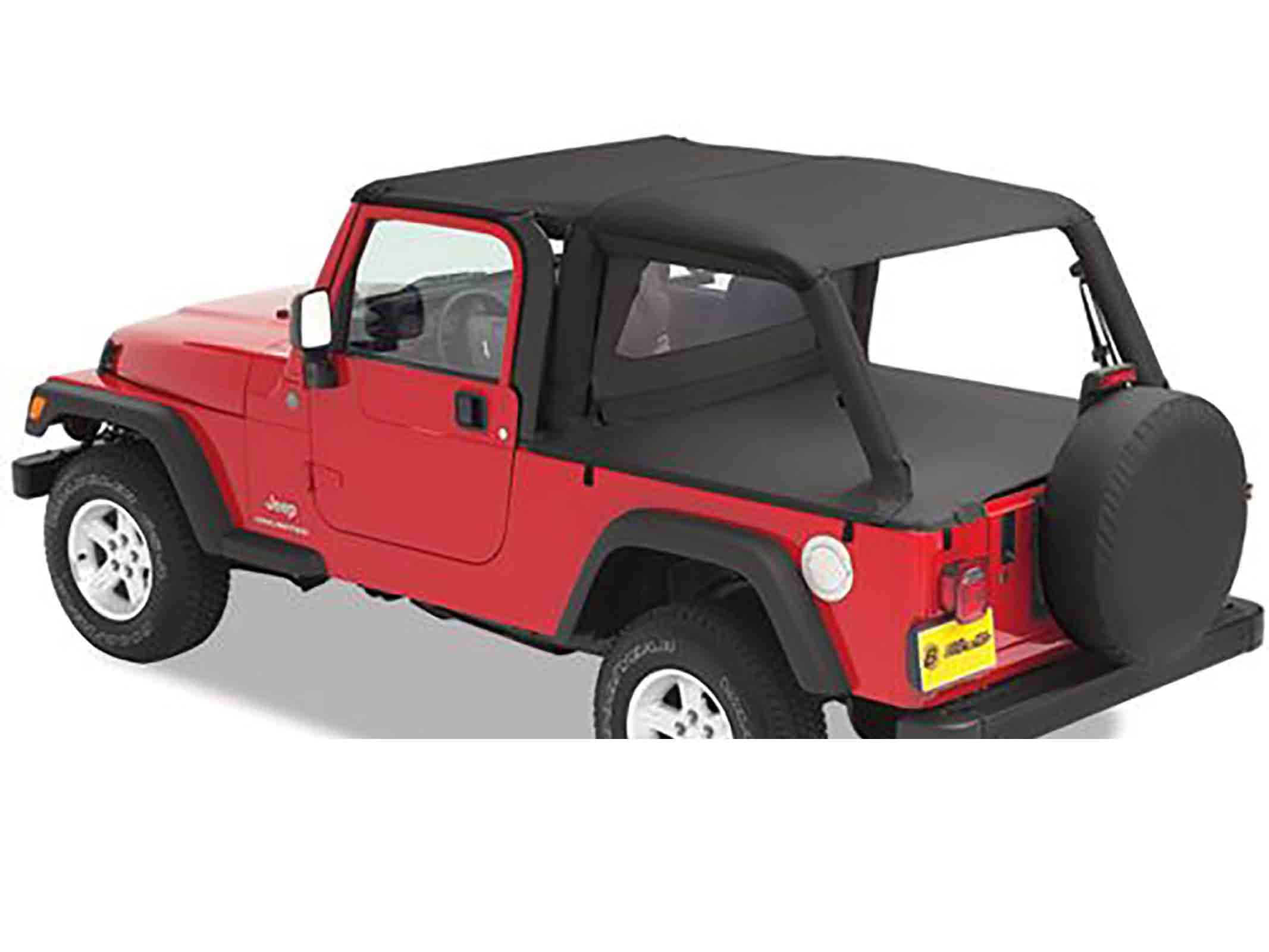 Bikini completo versione safari wrangler tj unlimited 04 06 black diamond ricambi jeep