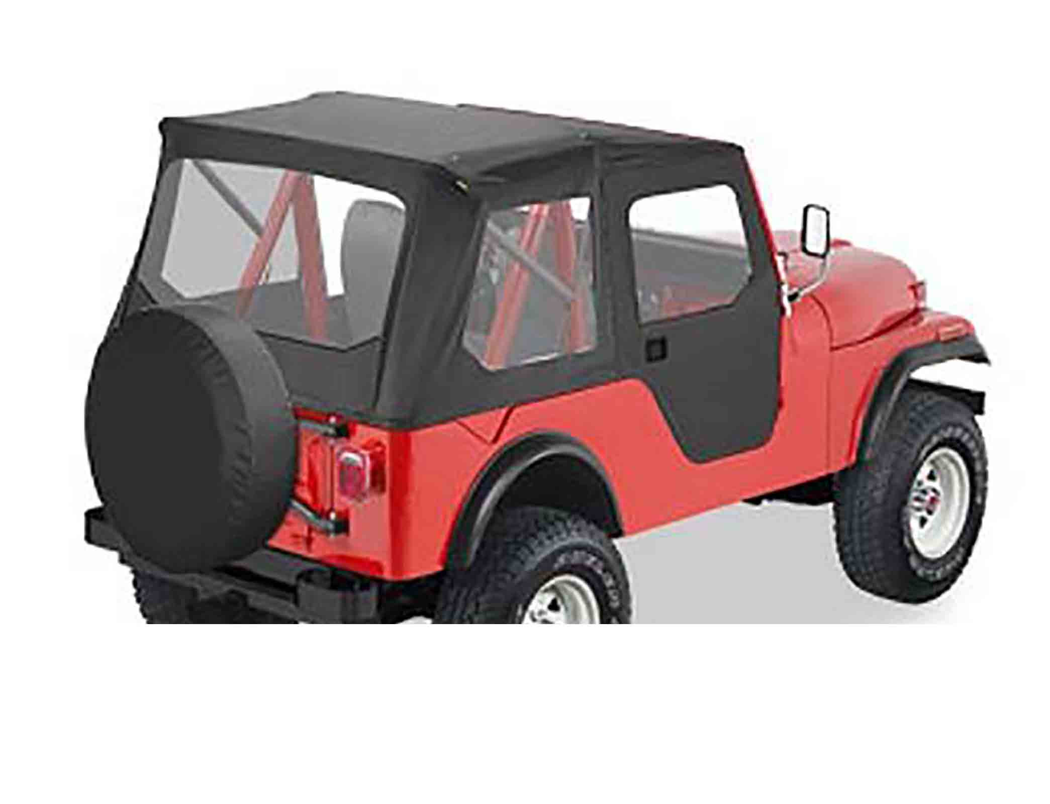 Tigertop softtop soft top capottina jeep cj5 55 75 senza centina ricambi jeep