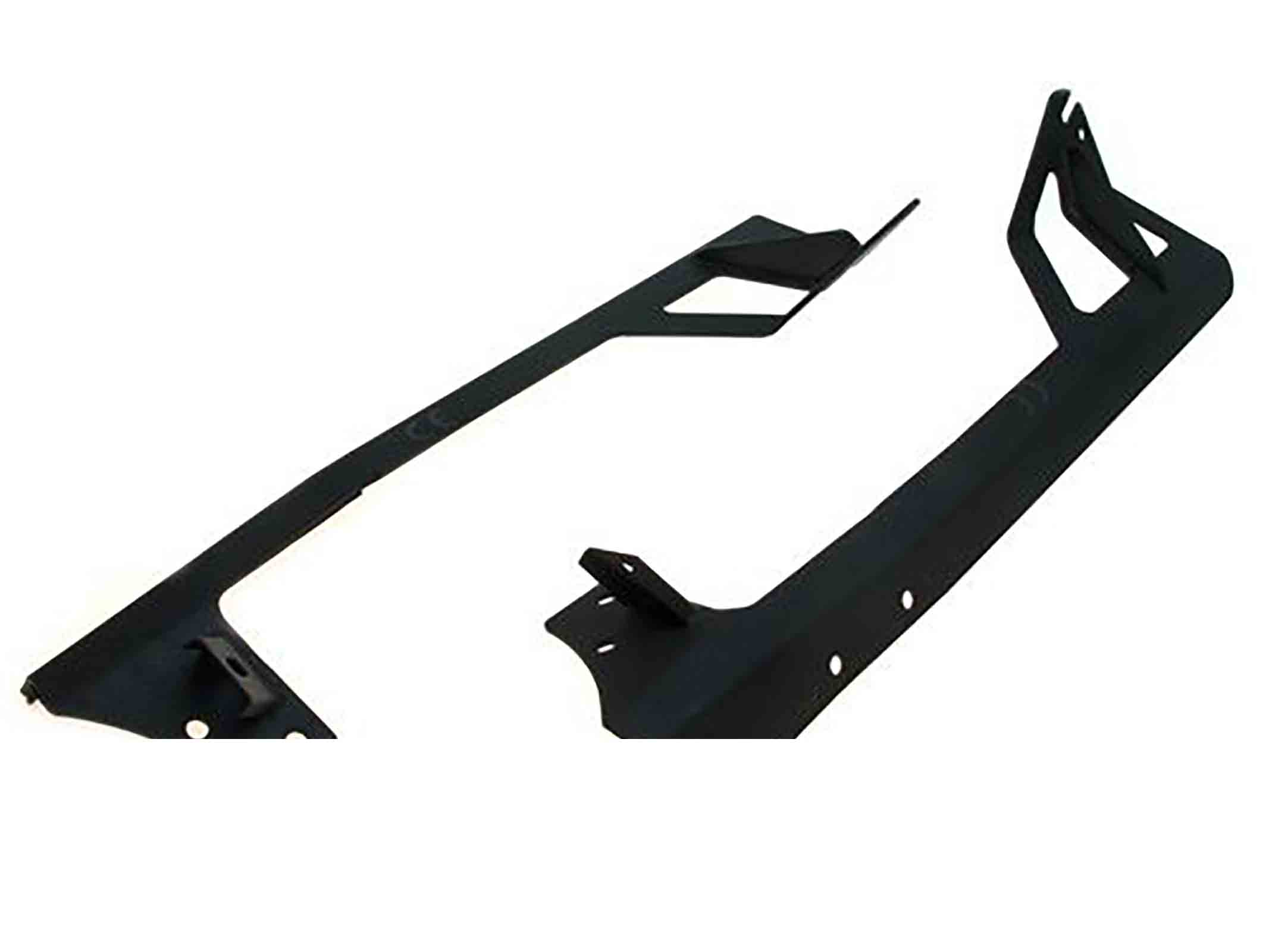Supporto fari per led bars wrangler jk 07 18 per 1x 50 lightbar + faro supporto ricambi jeep