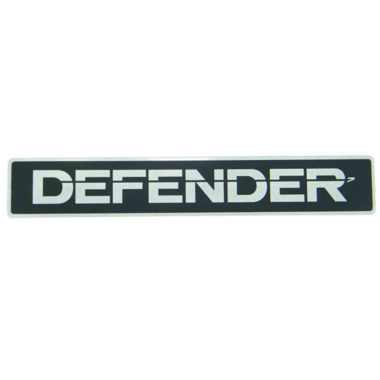 Land rover defender 90 110 tdi 300 200 td4 td5 adesivo decalcomania logo frontal