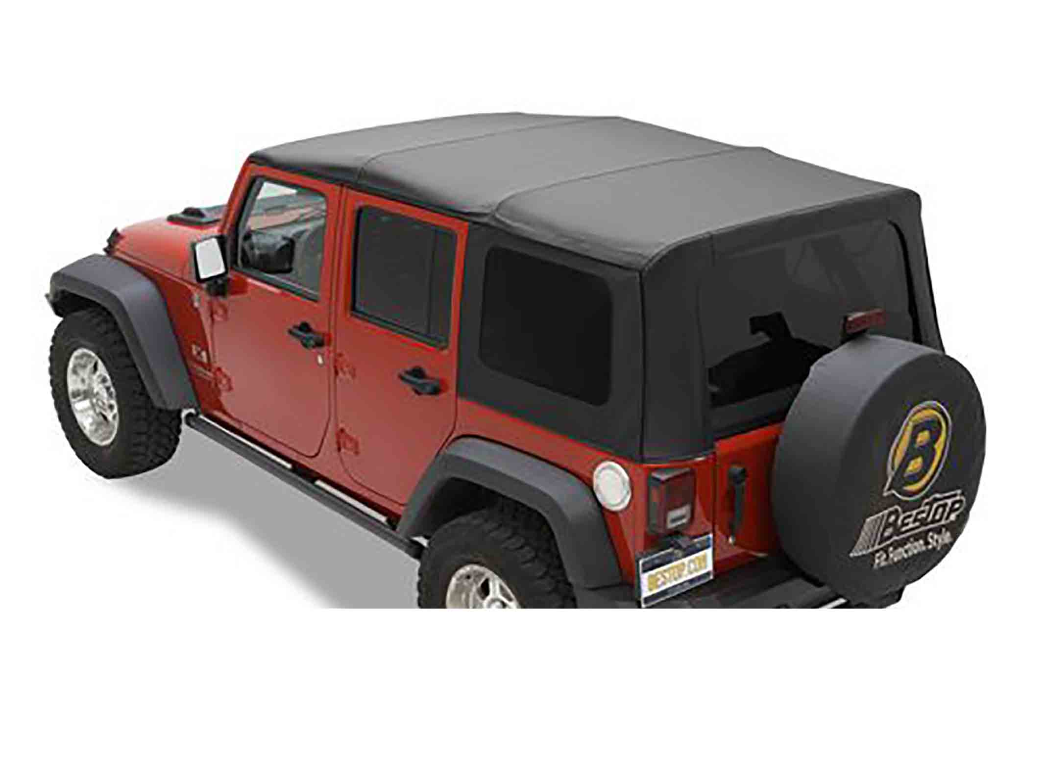 Sailcloth rat wrangler jk unlimited 11 17 softtop soft top capottina ricambio come originale con vetr