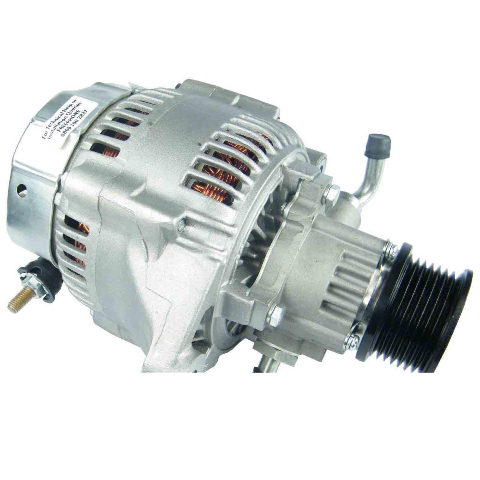 Land rover defender 90 110 td5 alternatore dinamo con pompa vuoto