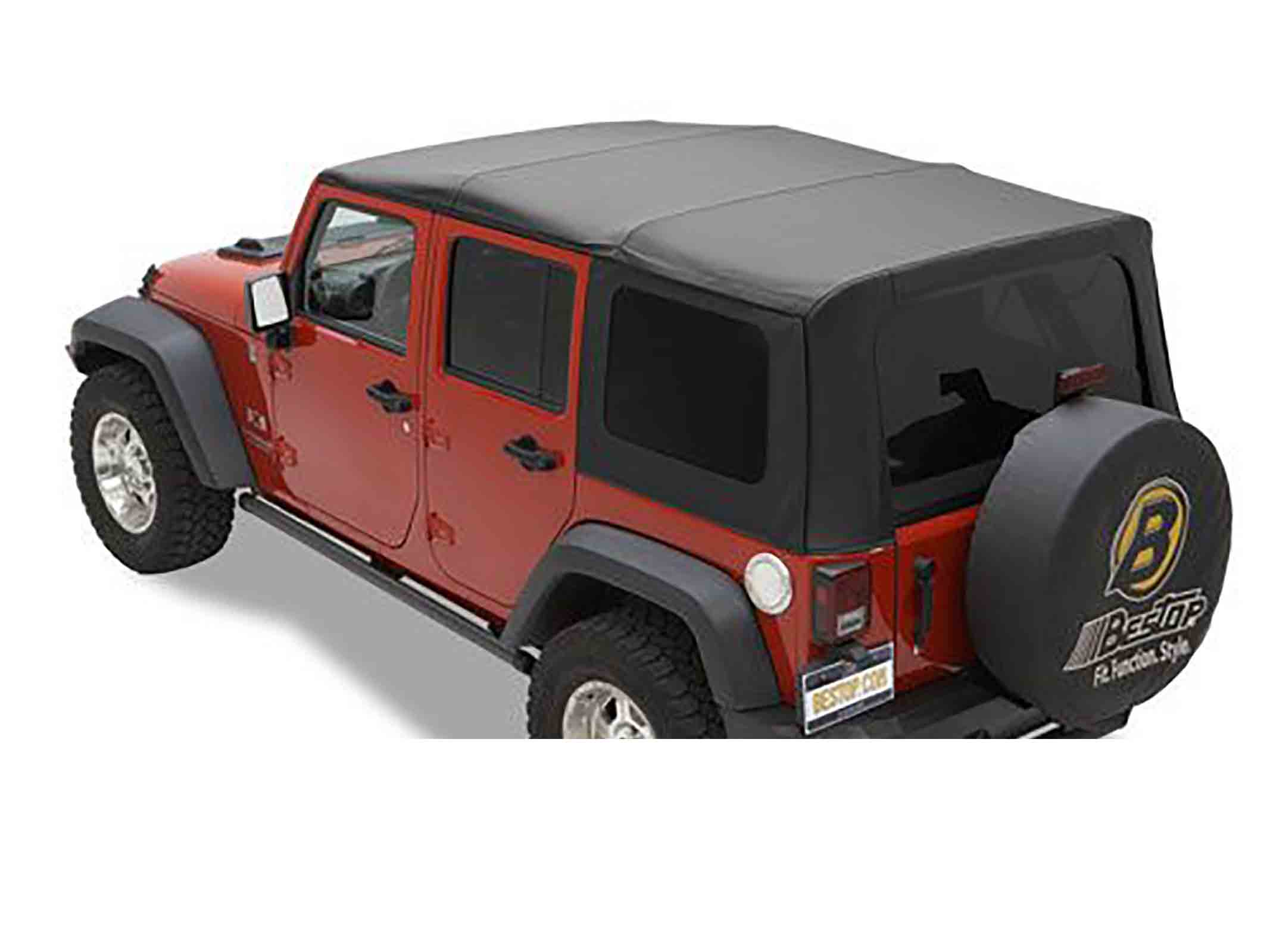 Softtop soft top capottina ricambio wrangler jk unlimited 10 17 4 porte ricambi jeep