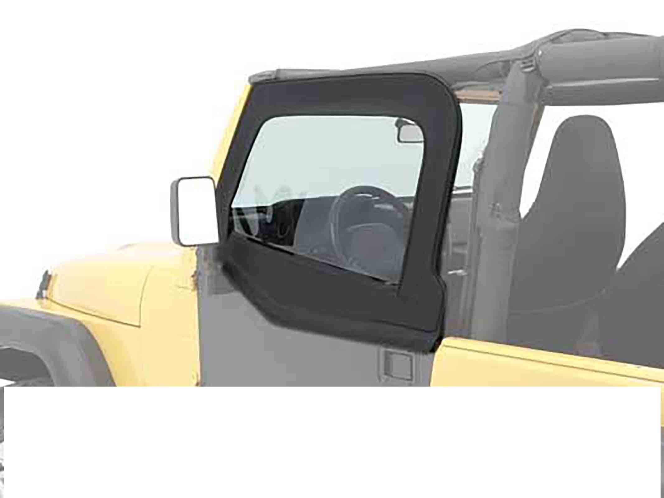 Kit elemento porta superiore wrangler tj 96 06 black denim ricambi jeep