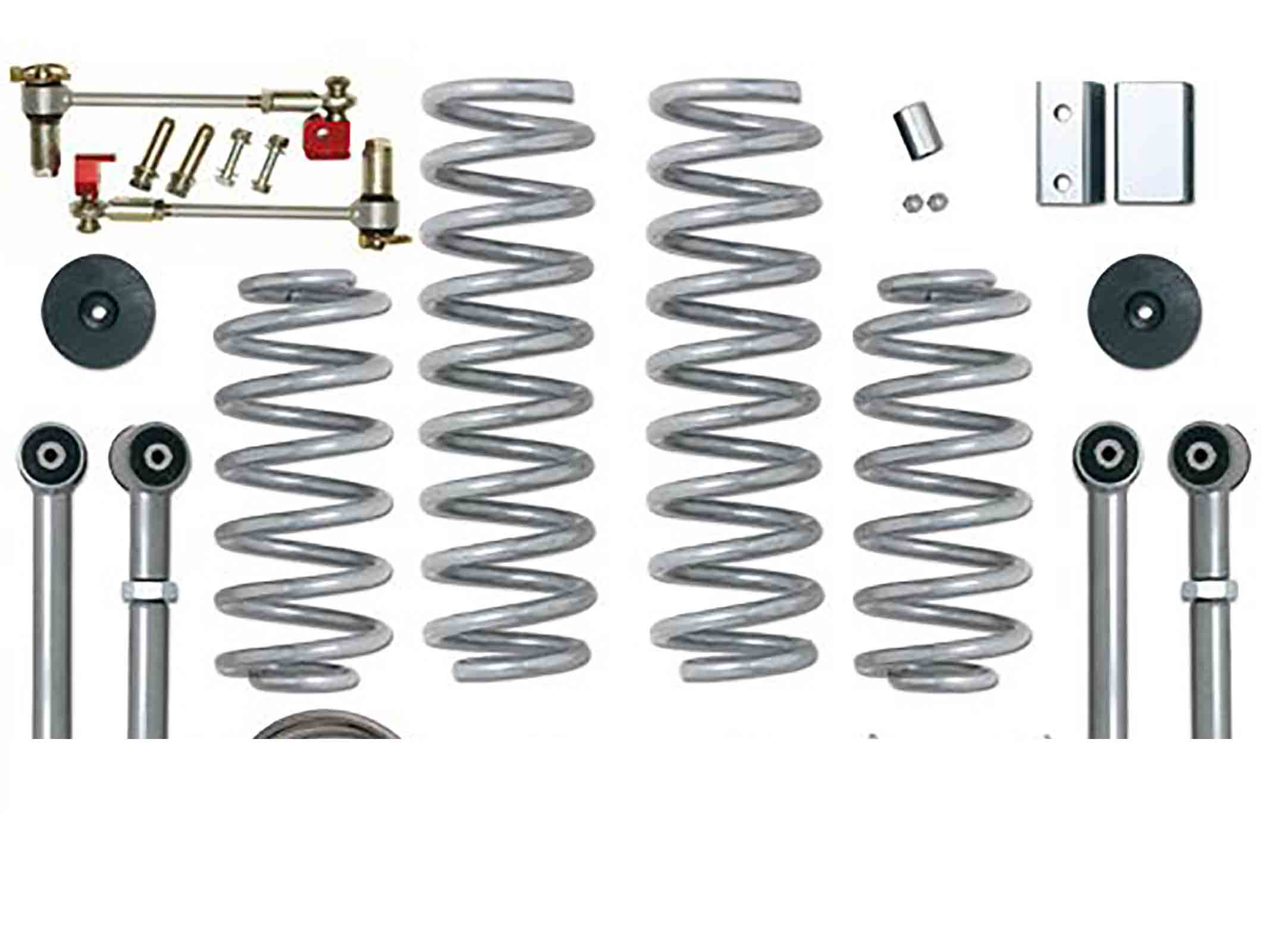 Super flex short arm kit grand cherokee zj zg 92 98  + 3,5 = 90mm ricambi jeep