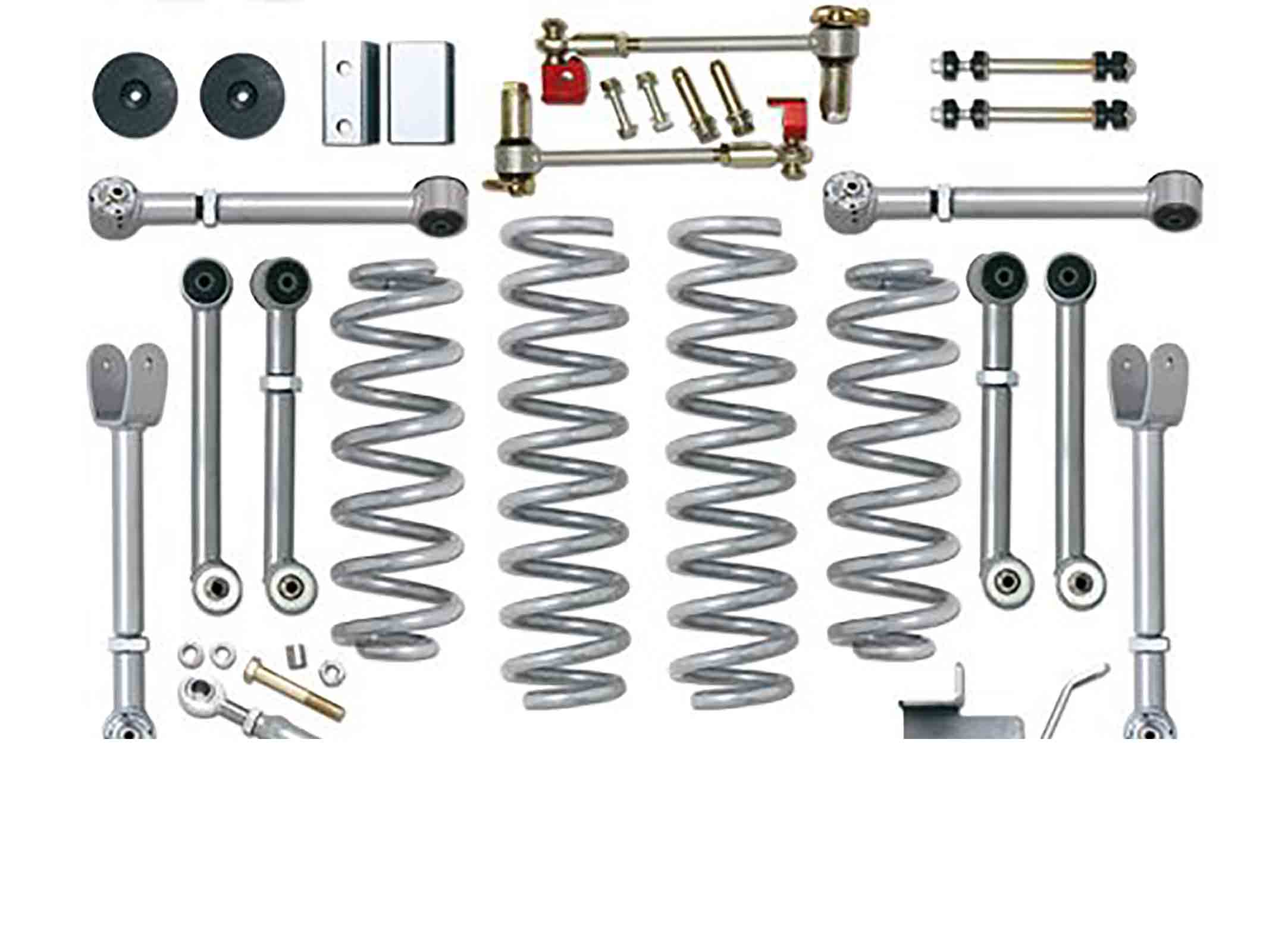 Super flex short arm kit grand cherokee zj zg 92 98  + 4,5 = 115mm ricambi jeep