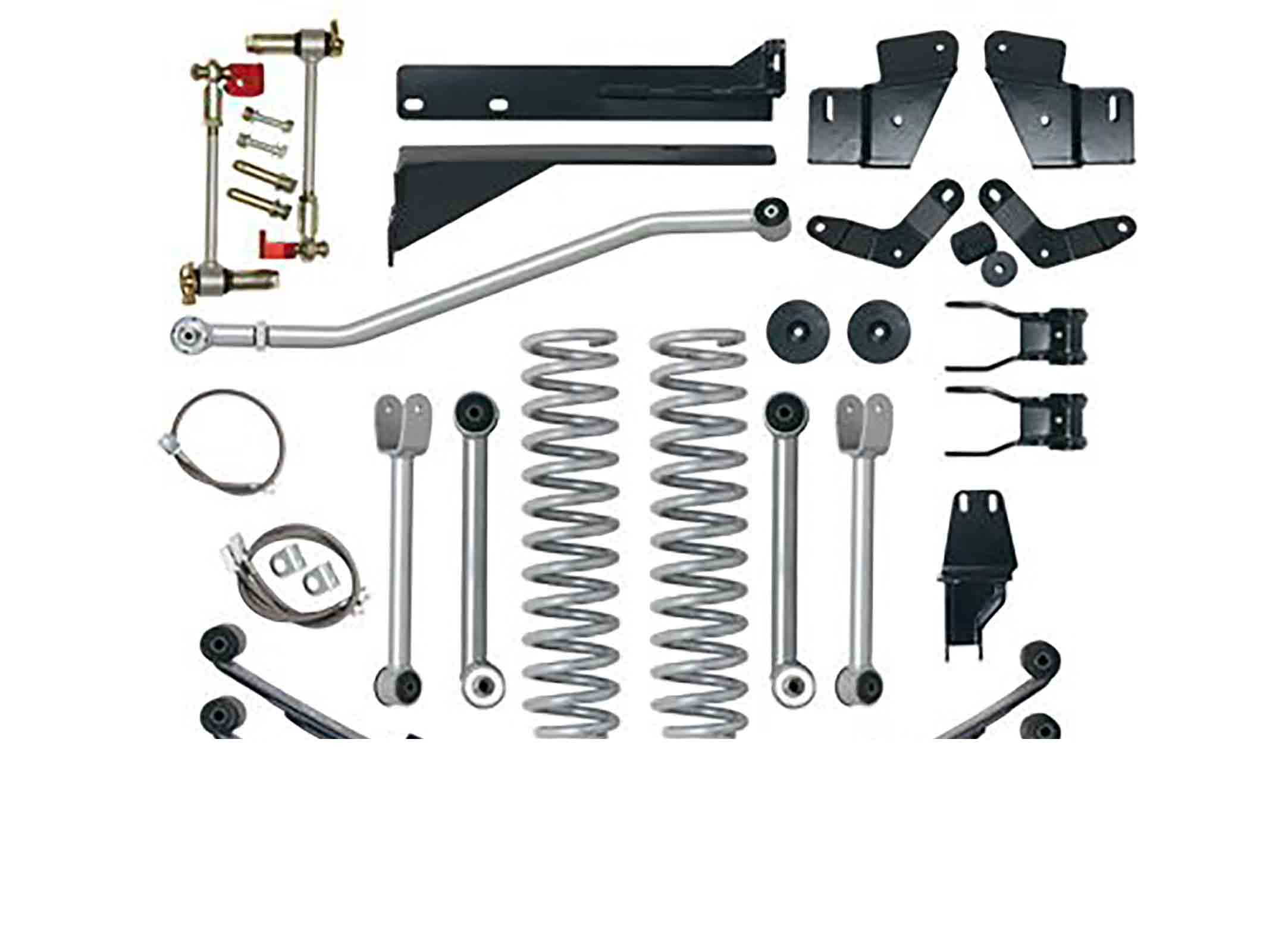 Super flex short arm kit cherokee xj 84 01  + 5,5 = 140mm ricambi jeep