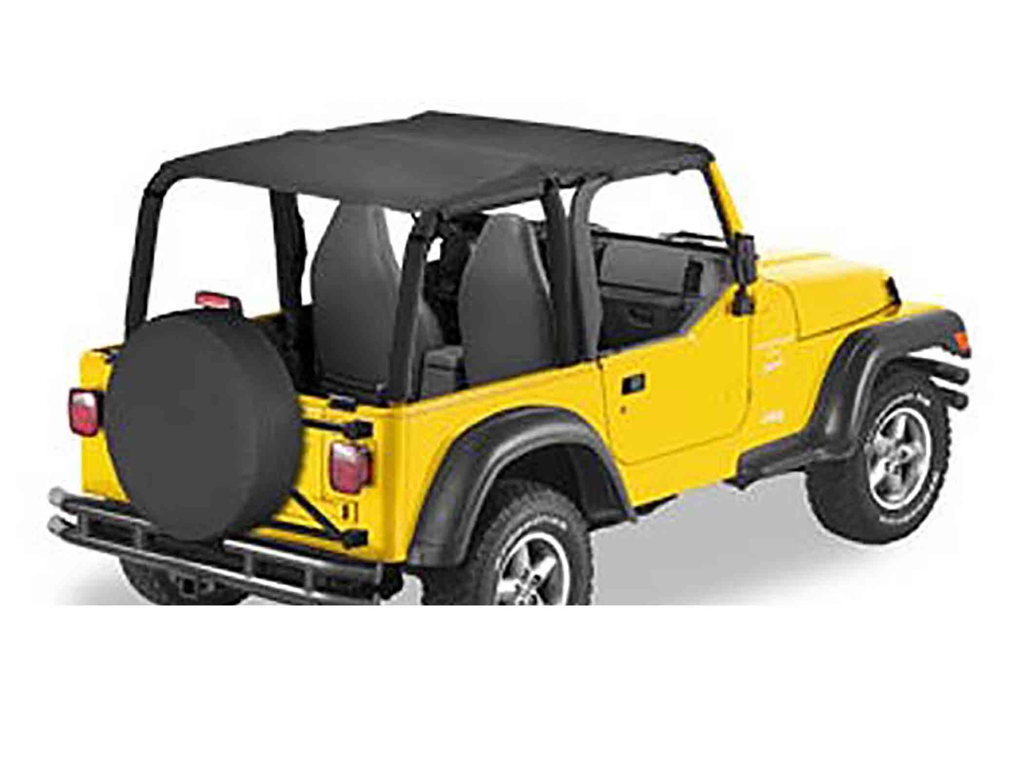 Bikini completo versione safari wrangler tj 03 06 black diamond ricambi jeep