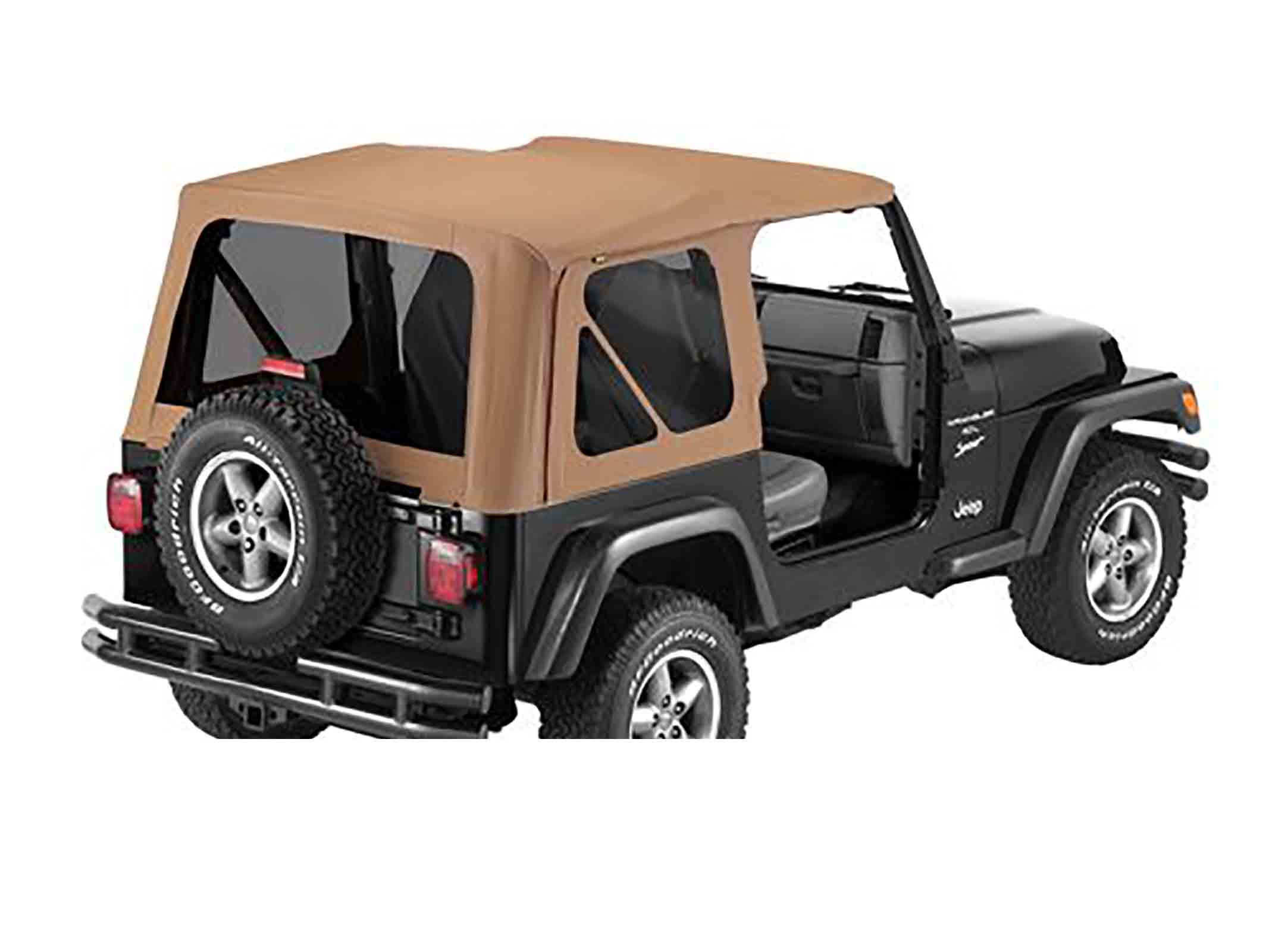 Softtop soft top capottina ricambio come originale wrangler tj 96 02 senza porta ricambi jeep