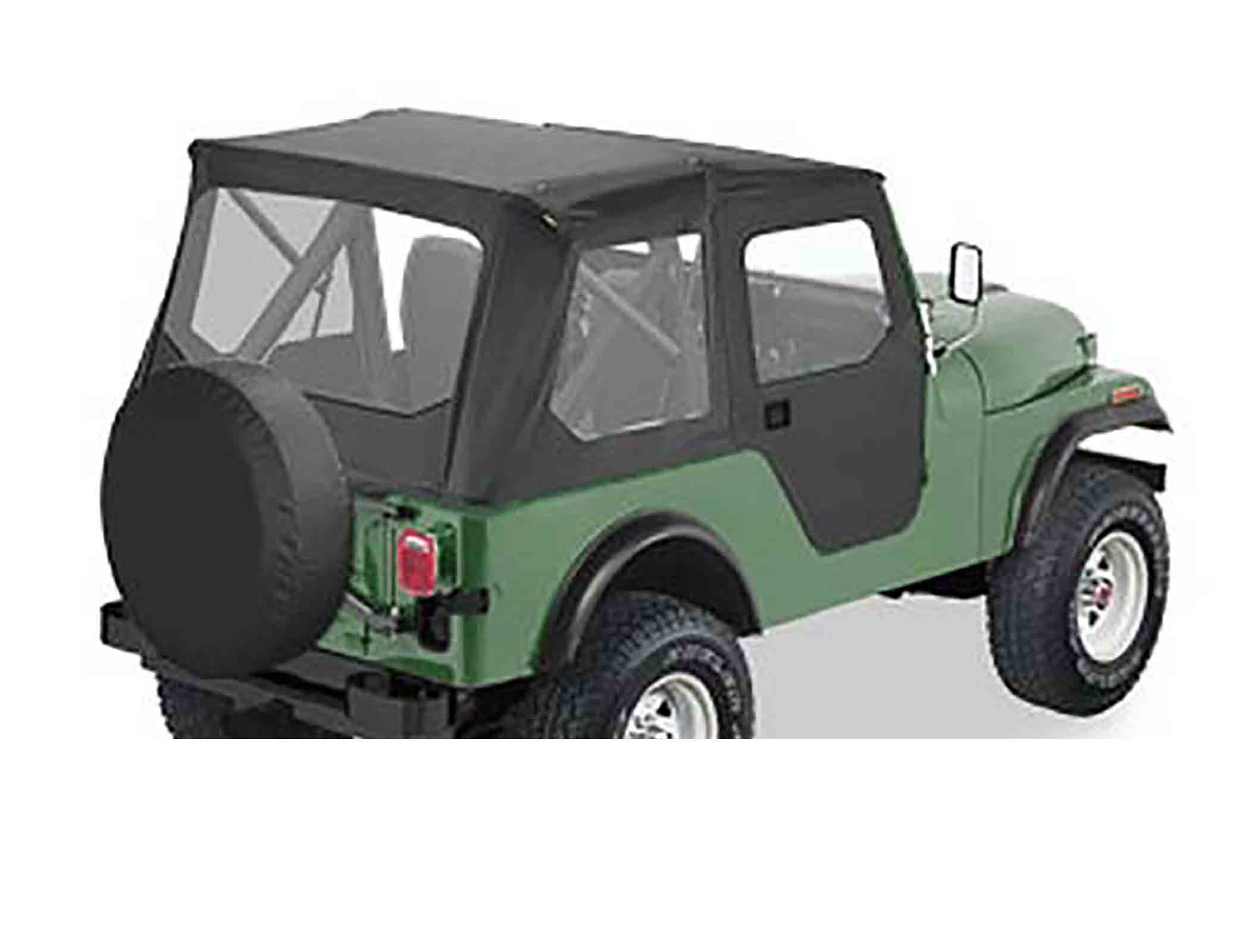 Tigertop softtop soft top capottina jeep cj5 76 83 senza centina ricambi jeep