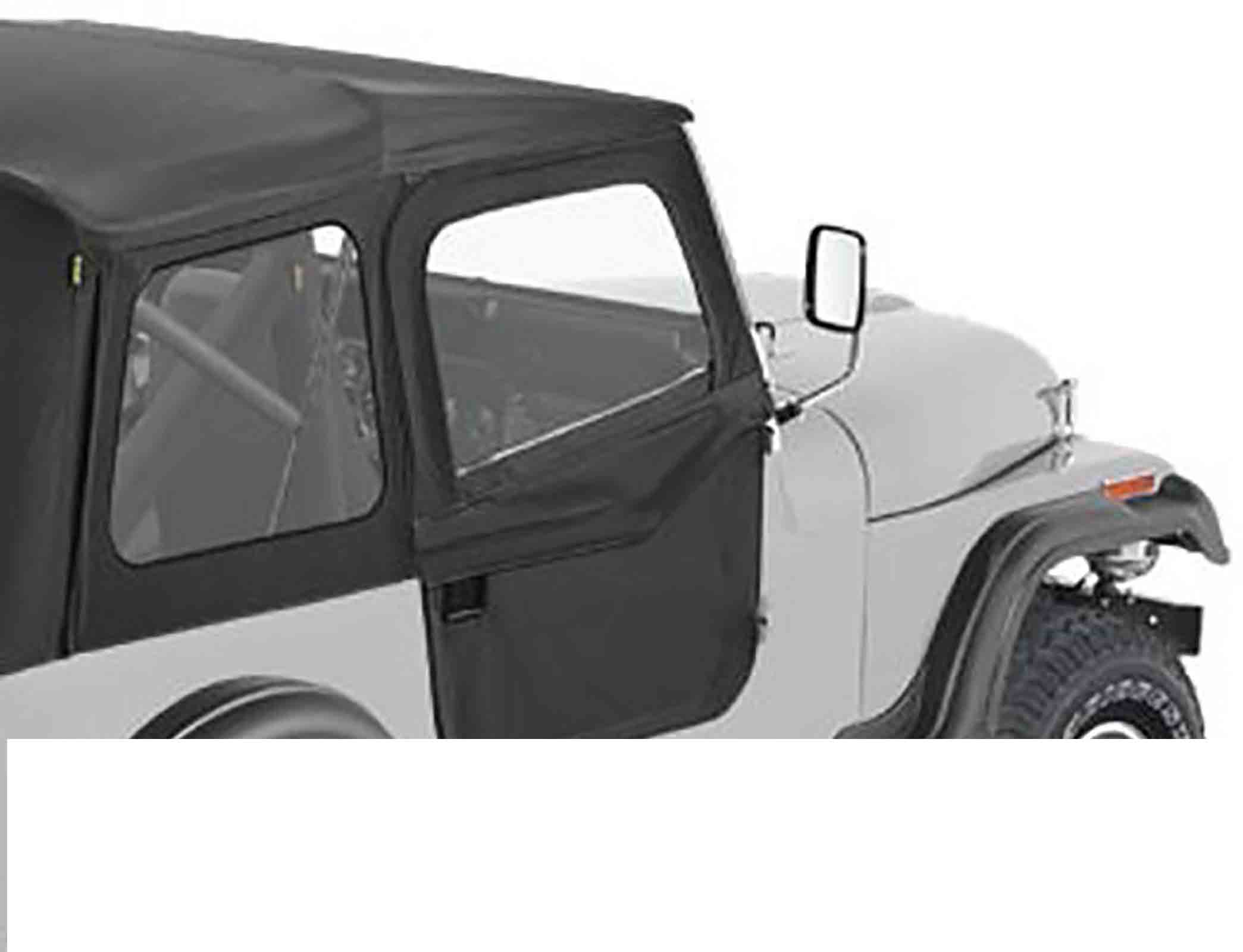Porte divisibili jeep cj7 76 80 black crush ricambi jeep