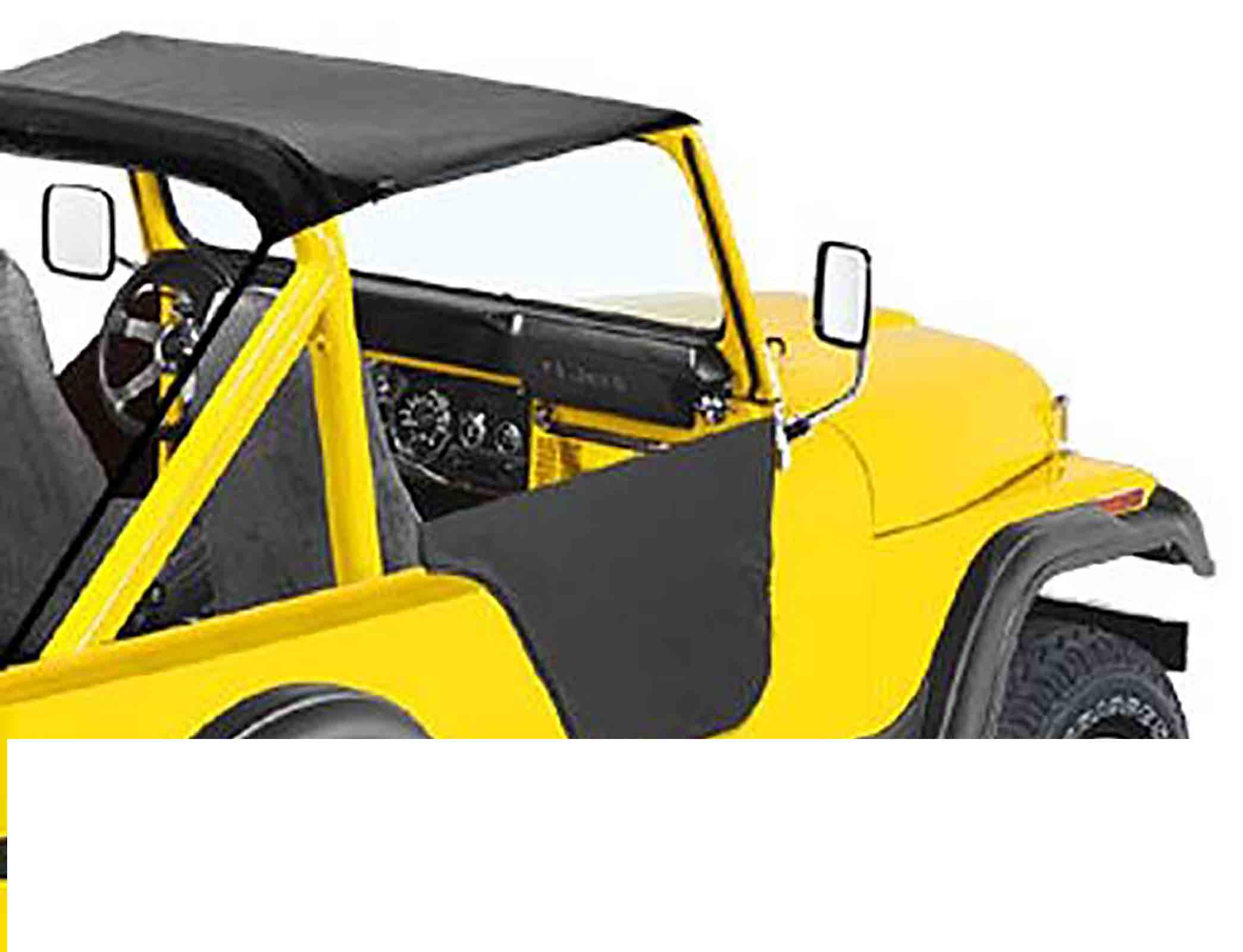 Mezzeporte jeep cj5 76 83 colori: black crush ricambi jeep