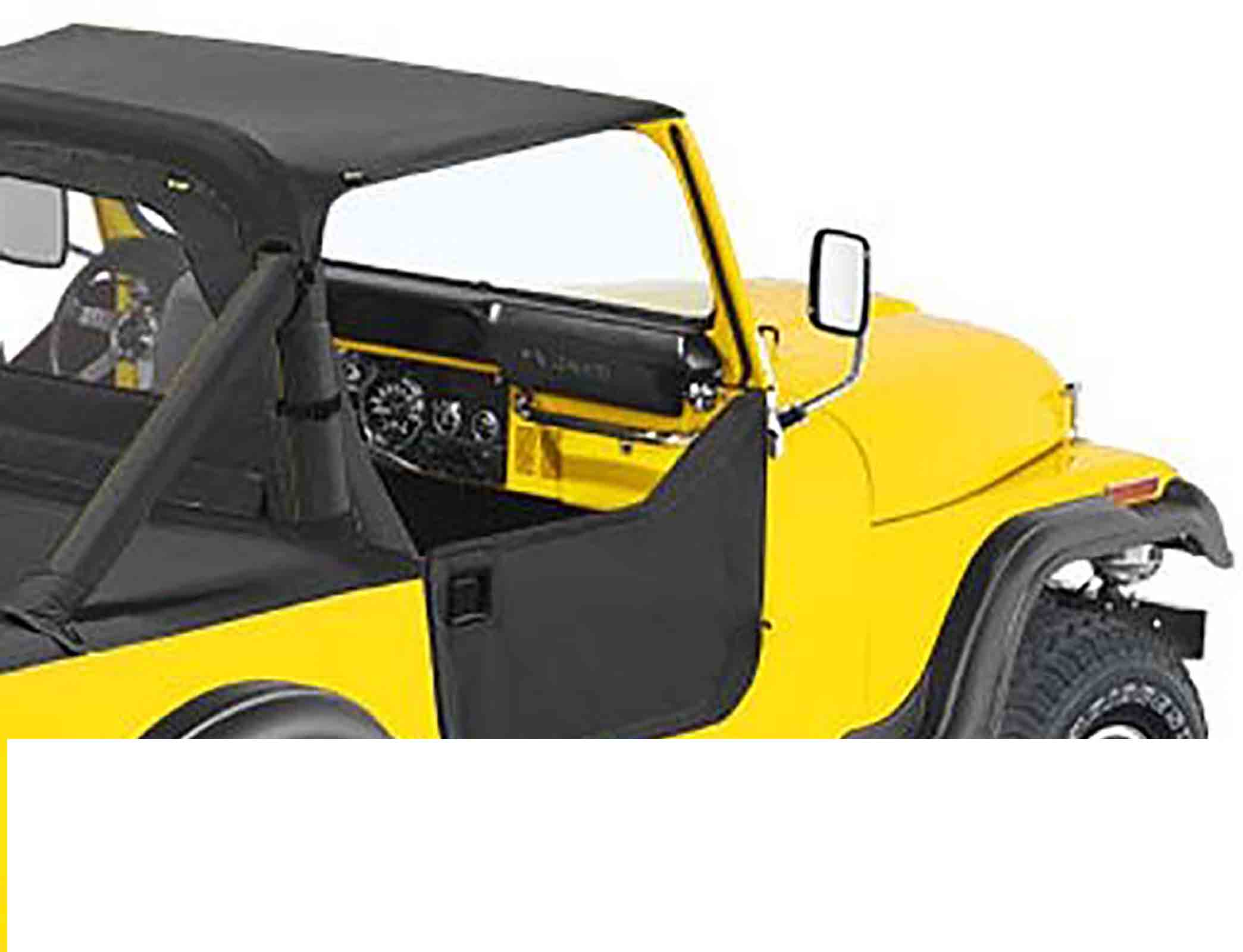 Mezzeporte jeep cj7 76 80 colori: black crush ricambi jeep
