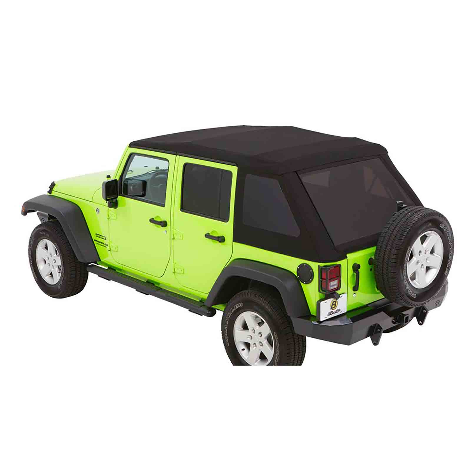 Trektop nx glide wrangler jk unlimited 07 18 black diamond 4 porte ricambi jeep