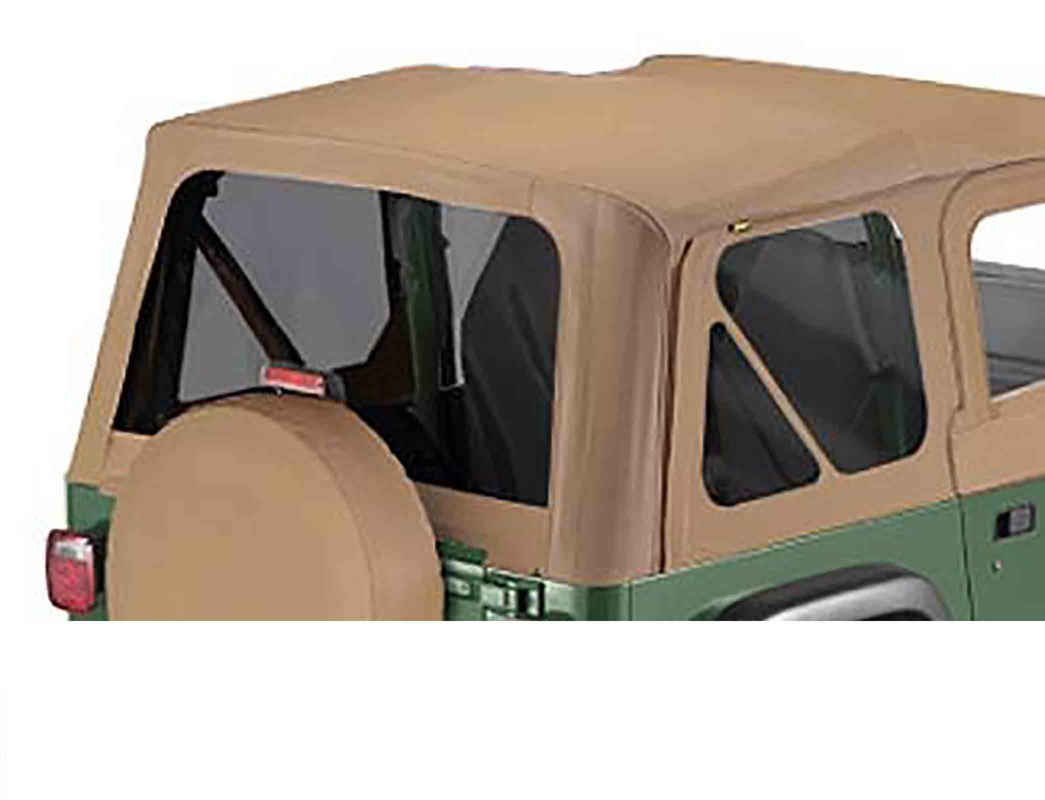Verti scuri wrangler tj 96 02  adatto per 51121 softtop soft top capottina ricambio e softtop soft to