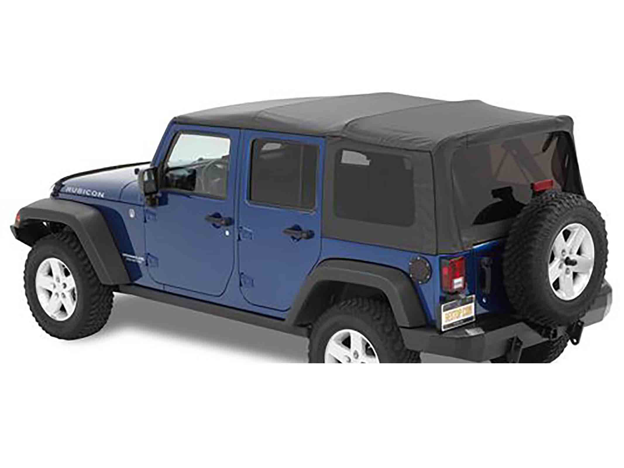 Supertop nx wrangler jk unlimited 07 18 black twill ricambi jeep