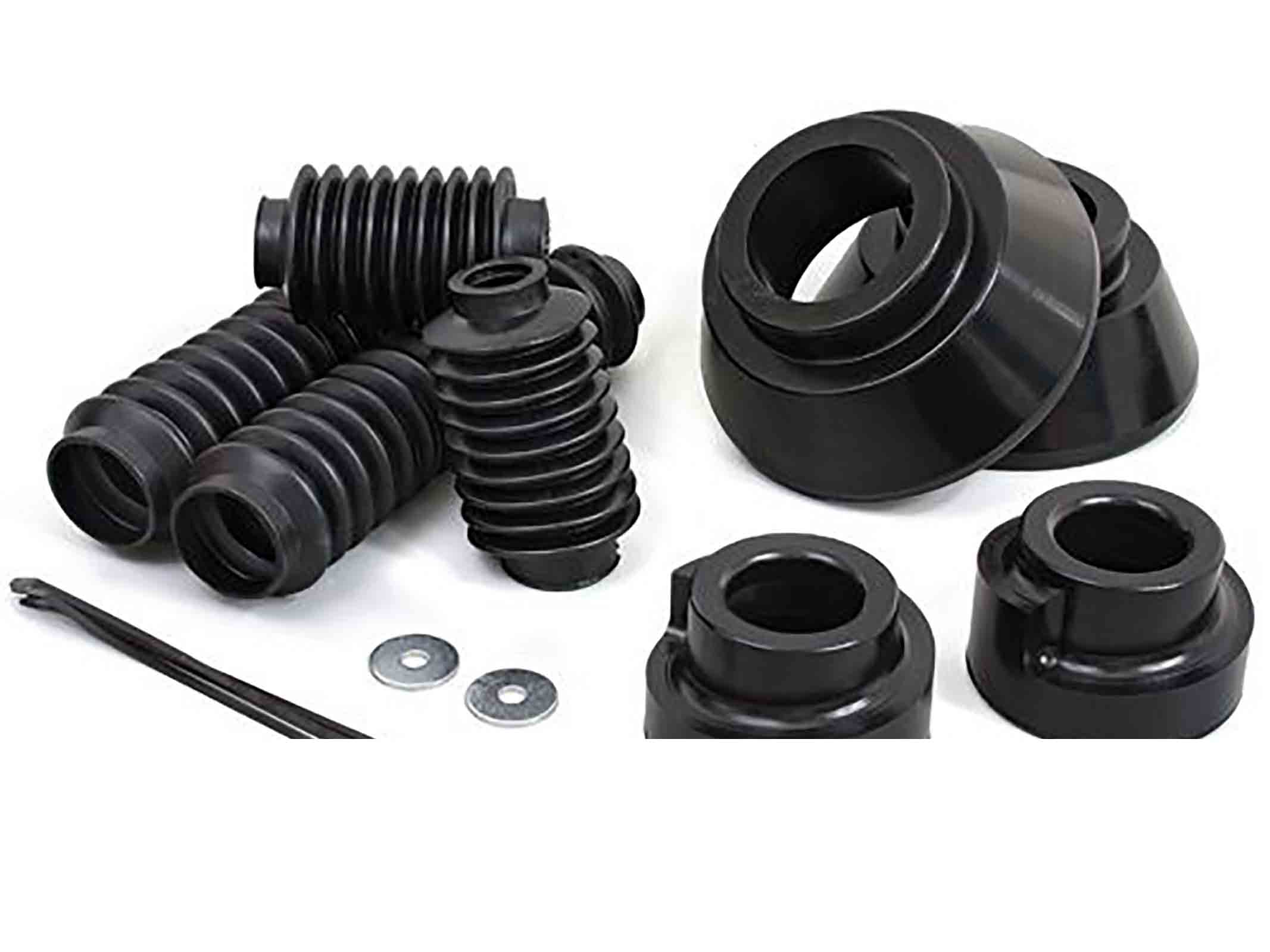Kit rialzo cherokee kj 02 07  + 38mm anteriore + 50mm posteriore poly ricambi jeep
