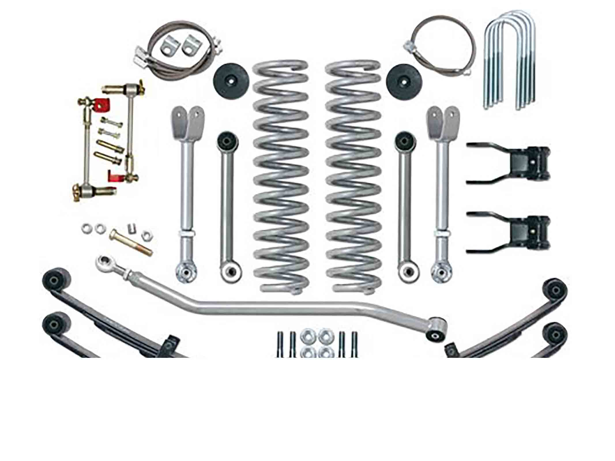 Super flex short arm kit cherokee xj 84 01  + 4,5 = 114mm ricambi jeep